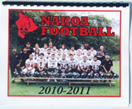 Pop Warner Calendar Example